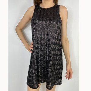 Aritzia Talula Black Sequin Dress NWT